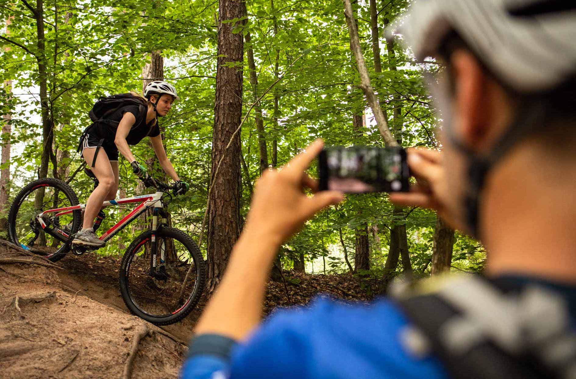 Mountainbike Frauen Fahrtechnik Kurs in München - Rock my Trail - 22