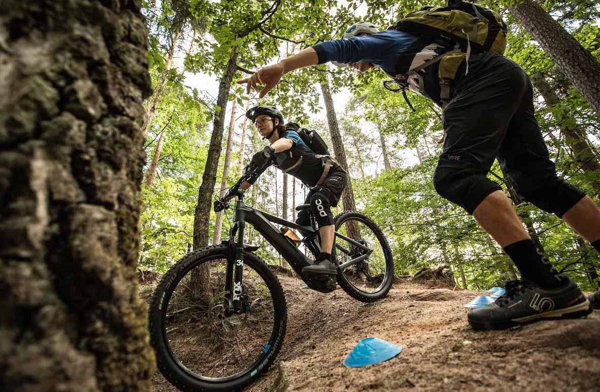 Mountainbike Frauen Kurs in Berlin - Hauptstadt - Rock my Trail Fahrtechnik Bikeschule GmbH