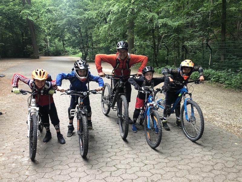 Mountainbike Kinder Kurs in Frankfurt |Taunus - 8-12 Jahre Kids - Rock my Trail Fahrtechnik Bikeschule