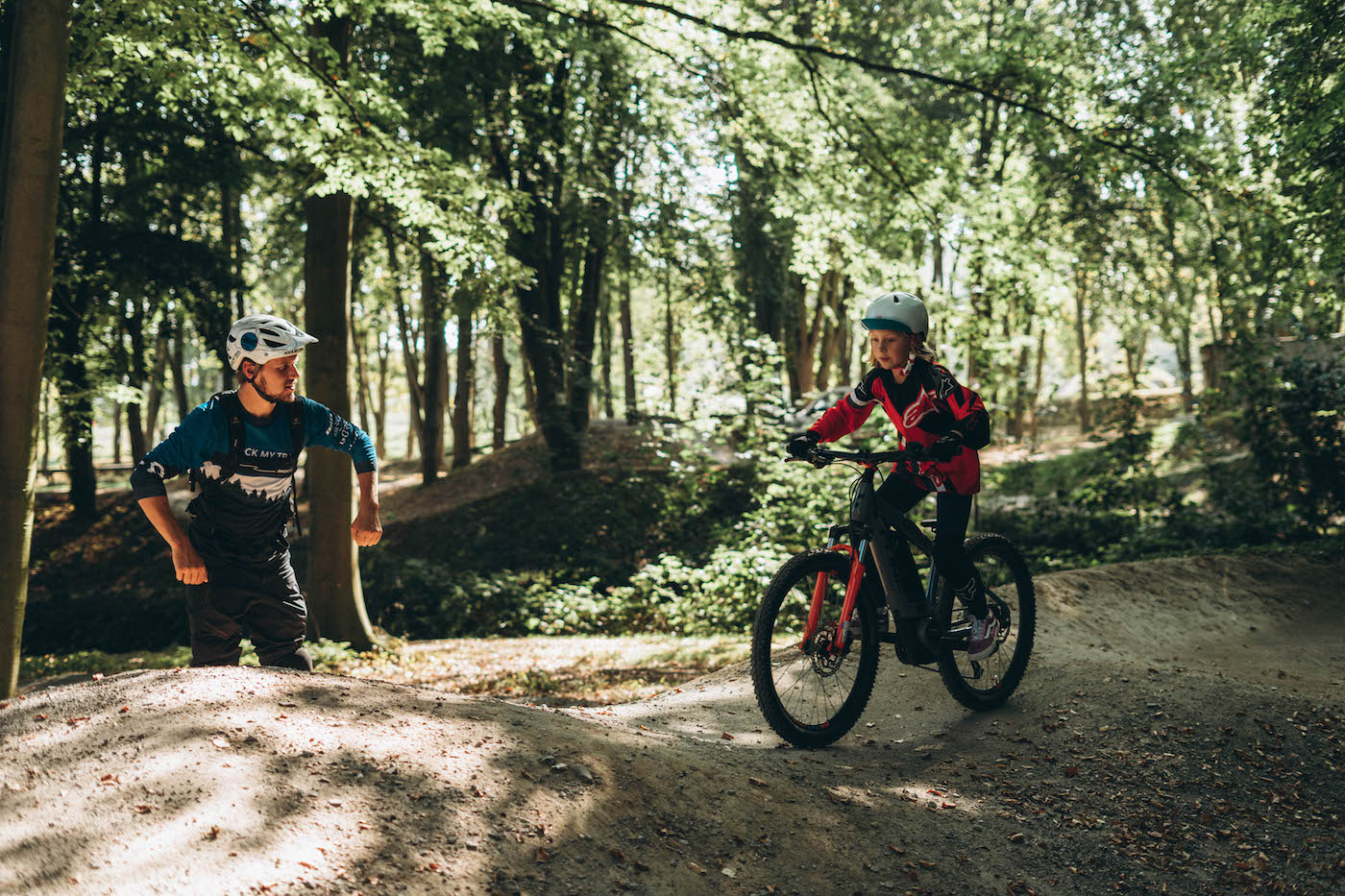 Mountainbike Kinder Kurs in Hannover |Bad Salzdetfurth - 8-12 Jahre Kids - Rock my Trail Fahrtechnik Bikeschule