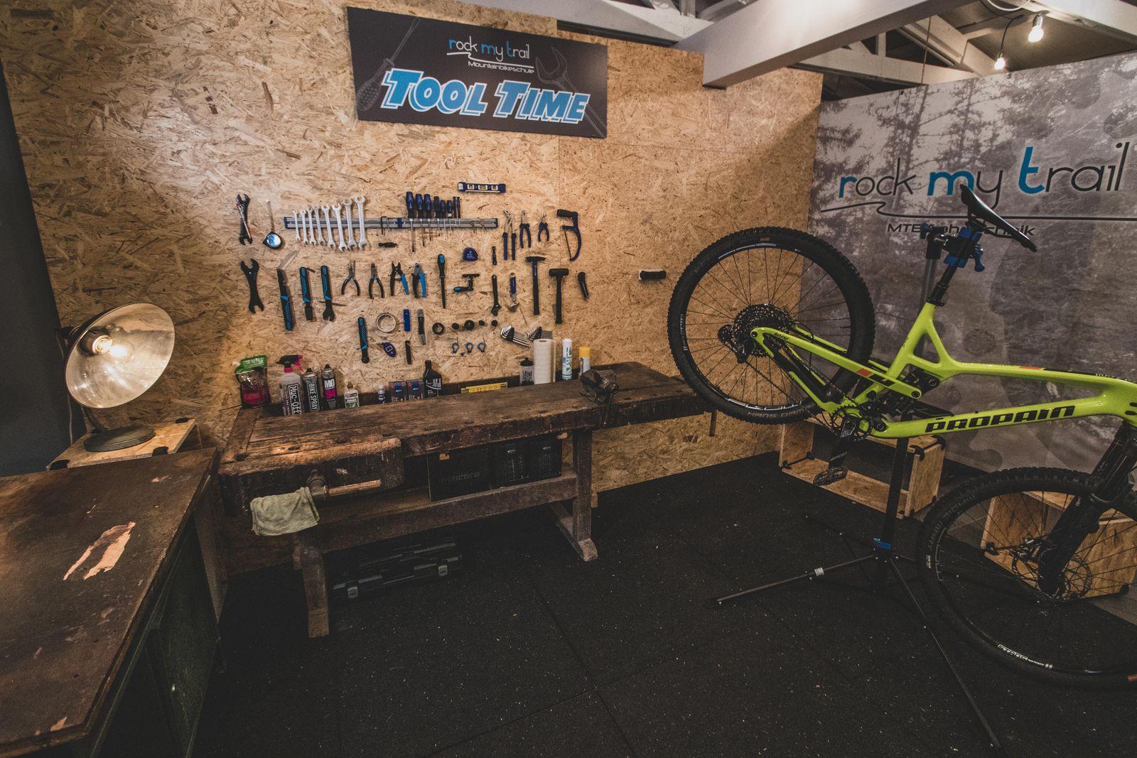 Schrauber Kurs Bike MTB eBike Werkstatt Reparatur Rock my Trail Gummersbach NRW