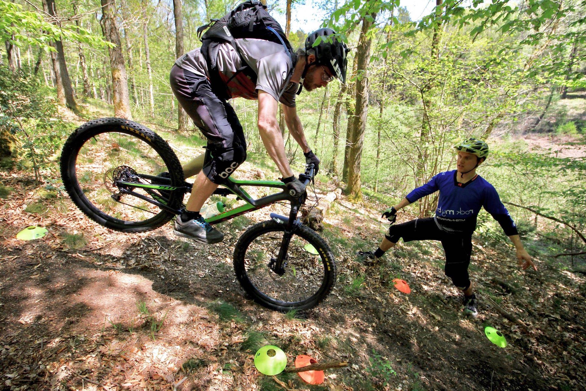 MTB eBike Fahrtechnik Kuse in Koblenz Training Einsteiger Fortgeschritten Experten Kindern Rock my Trail Bikeschule