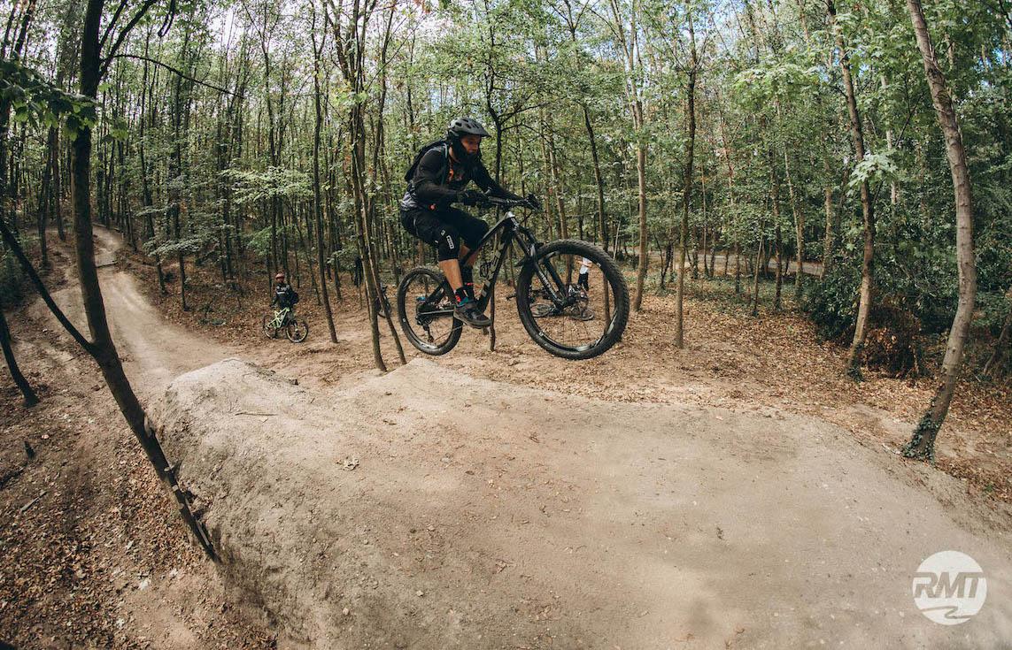 Sprung und Drop Fahrtechnik Kurs in Witten |Ruhrgebiet - Fahrtechnik Training Rock my Trail Bikeschule GmbH