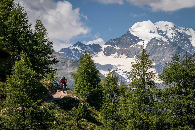 Trail-TransAlp mit vielen Trails Big Mountain AlpenCross Rock my Trail Bikeschule
