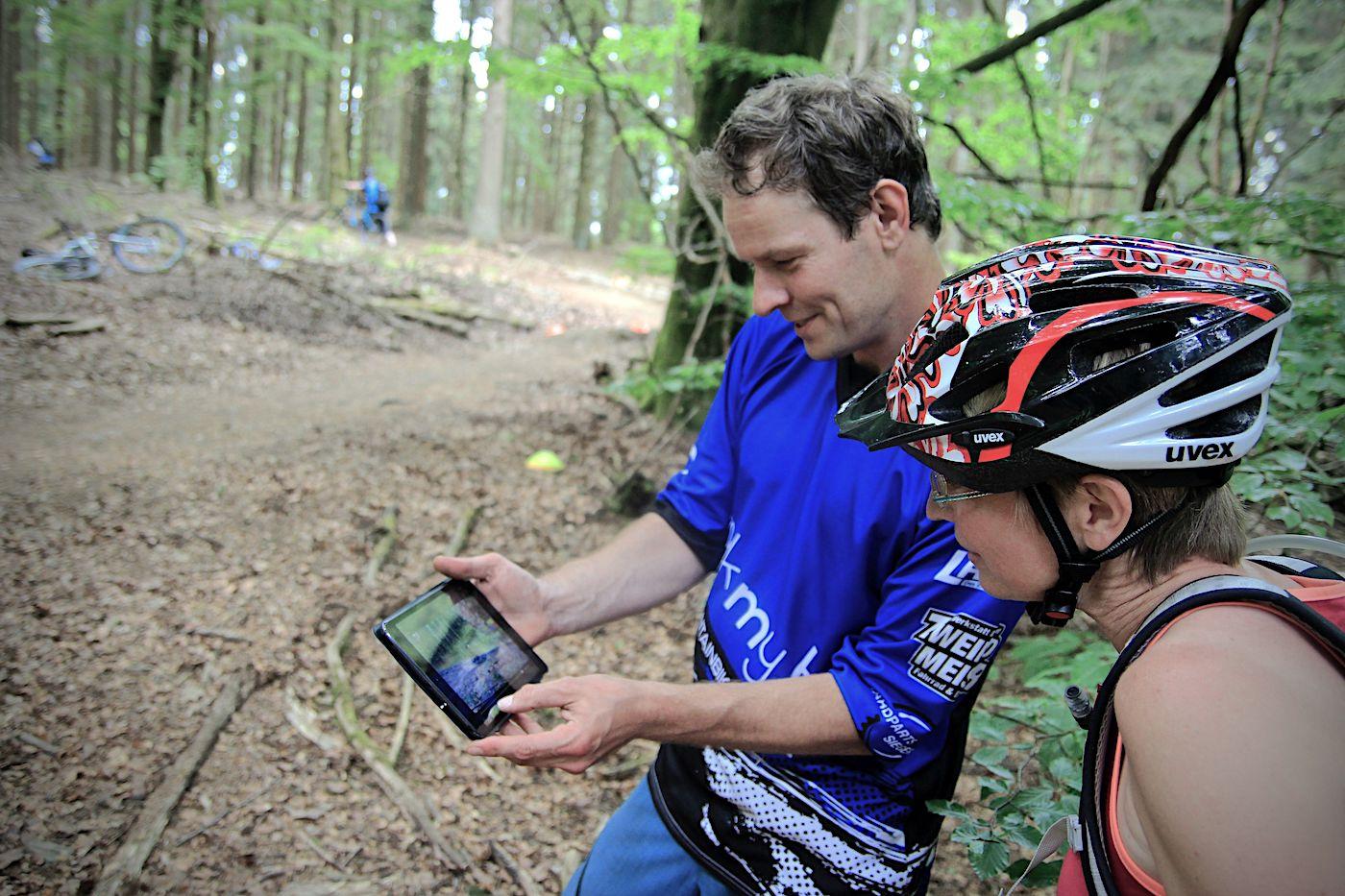 eBike & MTB Fahrtechnik Kurse in Baden-Württemberg Training Rock my Trail Bikeschule