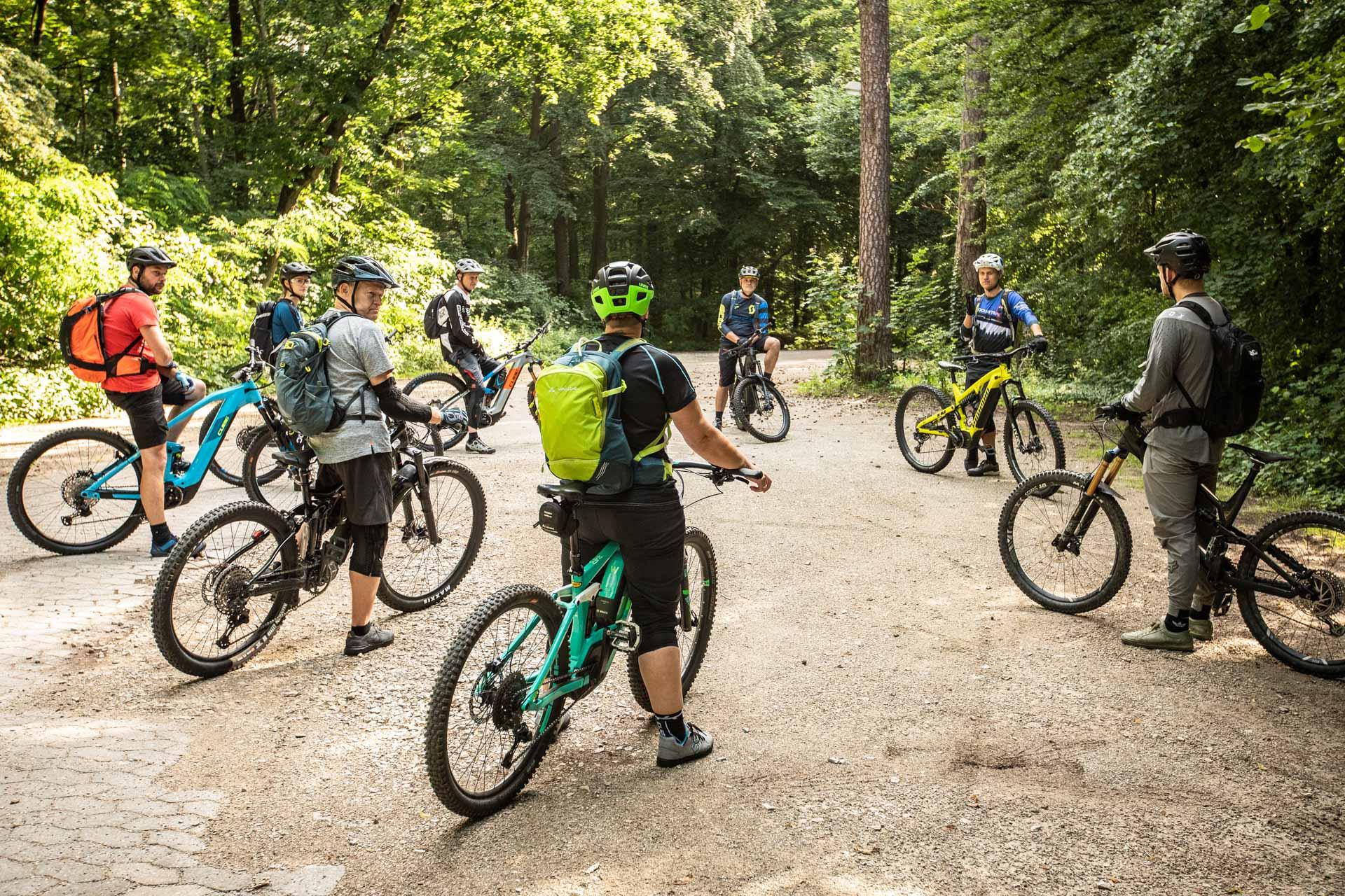 eMTB Basic Fahrtechnik Kurs Gummersbach | Wiehl Rock my Trail Bikeschule