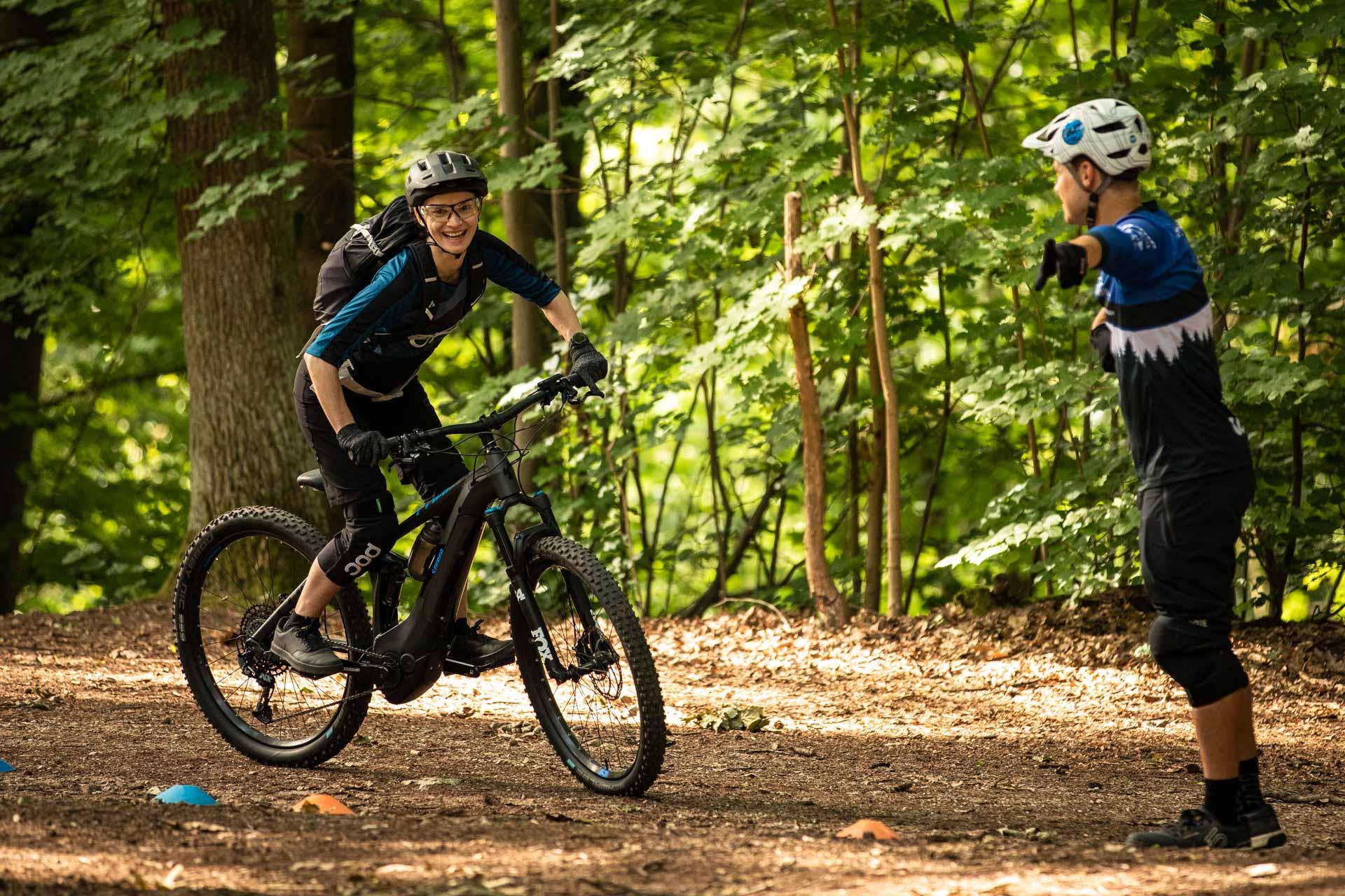 eMTB Basic Fahrtechnik Kurs Koblenz Rock my Trail Bikeschule