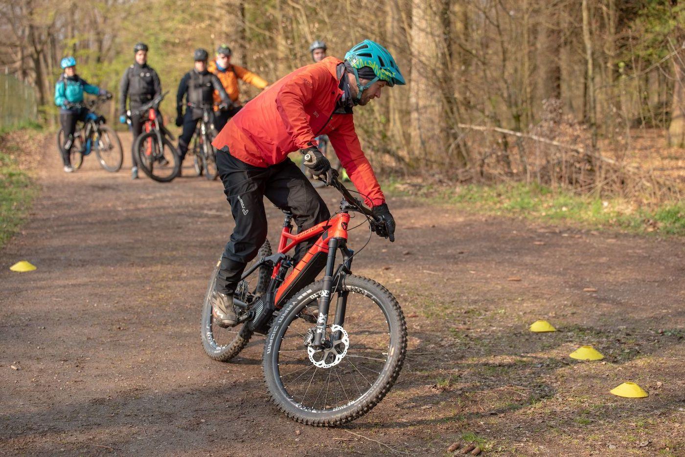 eMTB Fahrtechnik Einsteiger Kurs Nagold - eBike Training - Rock my Trail