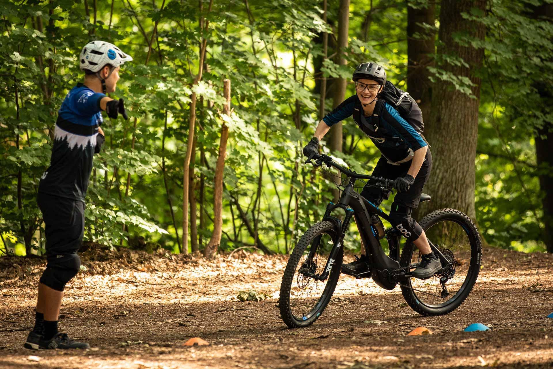 eMTB Fahrtechnik Einsteiger Kurs Witten |Ruhrgebiet - eBike Training - Rock my Trail Bikeschule GmbH