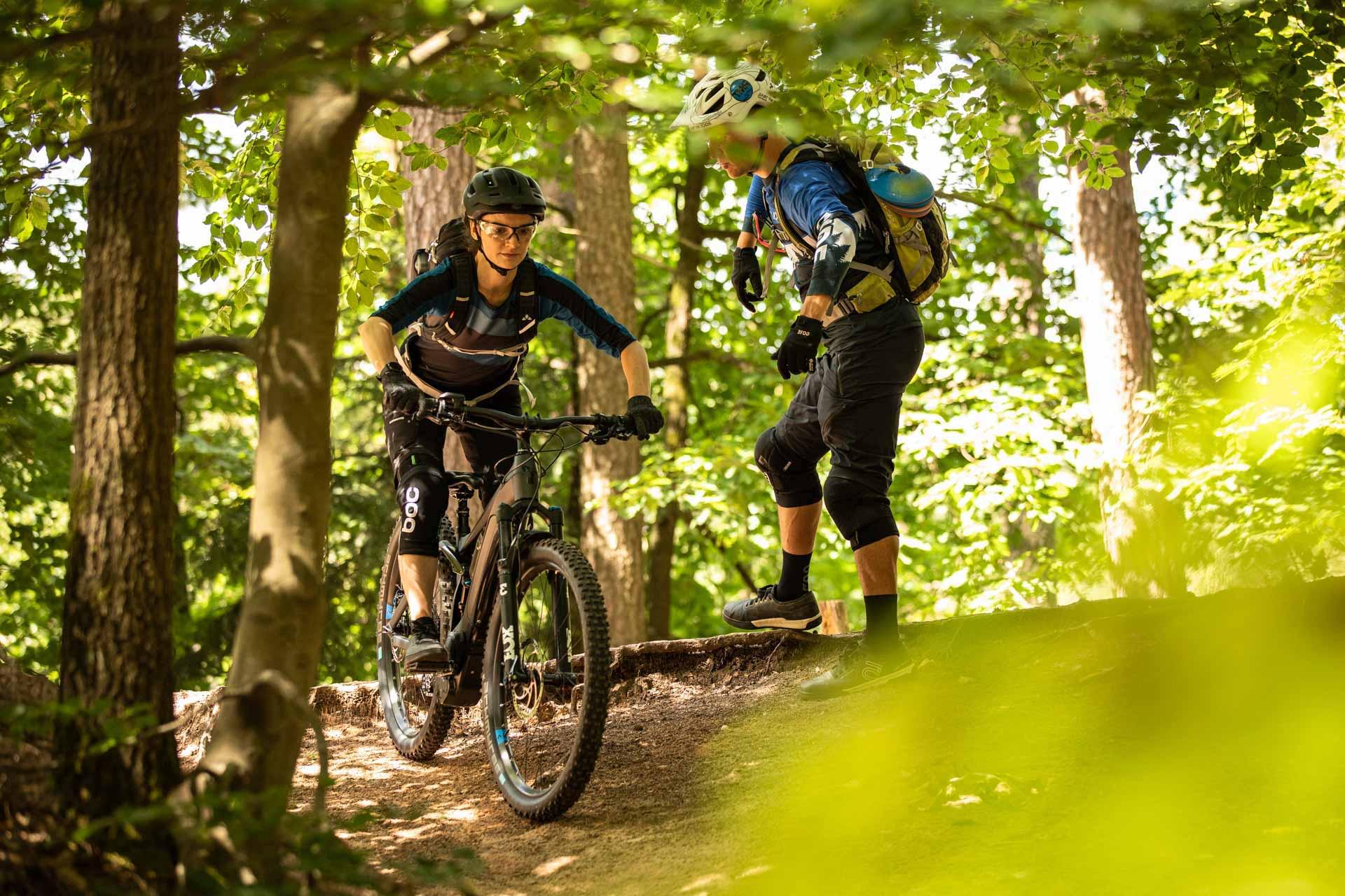 eMTB Fahrtechnik Einsteiger Kurs in Hannover |Bad Salzdetfurth - Fahrtechnik Training Rock my Trail Bikeschule