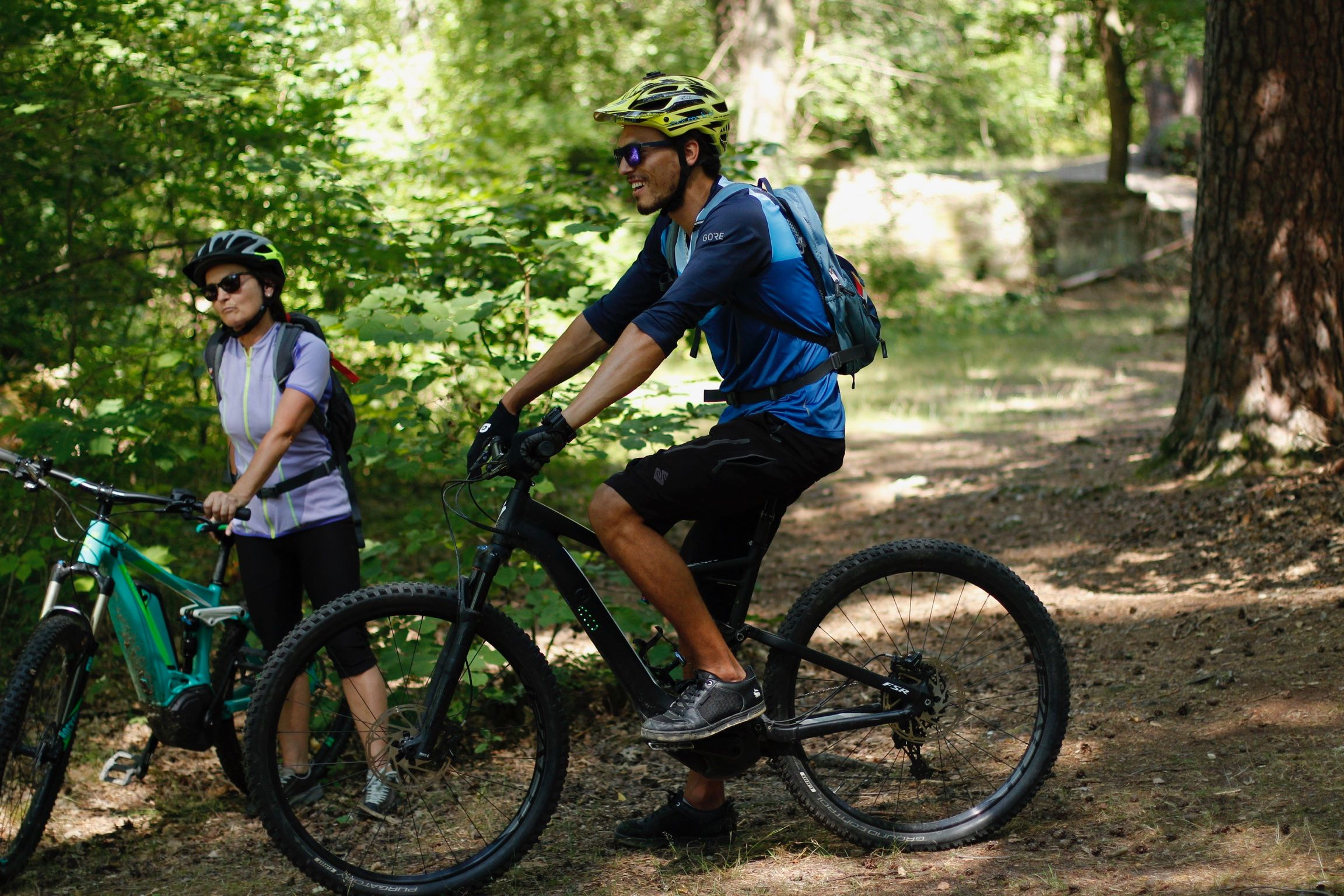 eMTB Fahrtechnik Einsteiger Sasbachwalden Kurs für eBike Einsteiger_Rock my Trail Bikeschule
