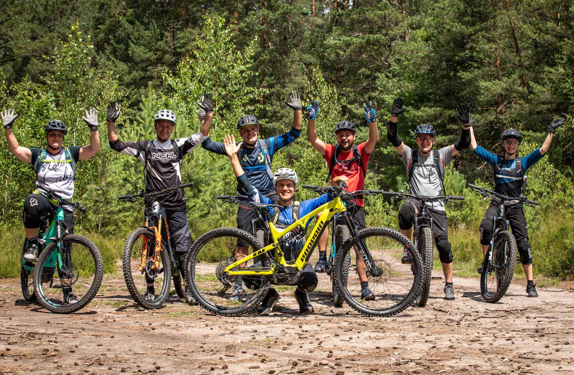 eMTB Fahrtechnik Kurs Einsteiger Freiburg - Schwarzwald Breisgau Schlossberg - Fahrtechnik Training Rock my Trail Bikeschule