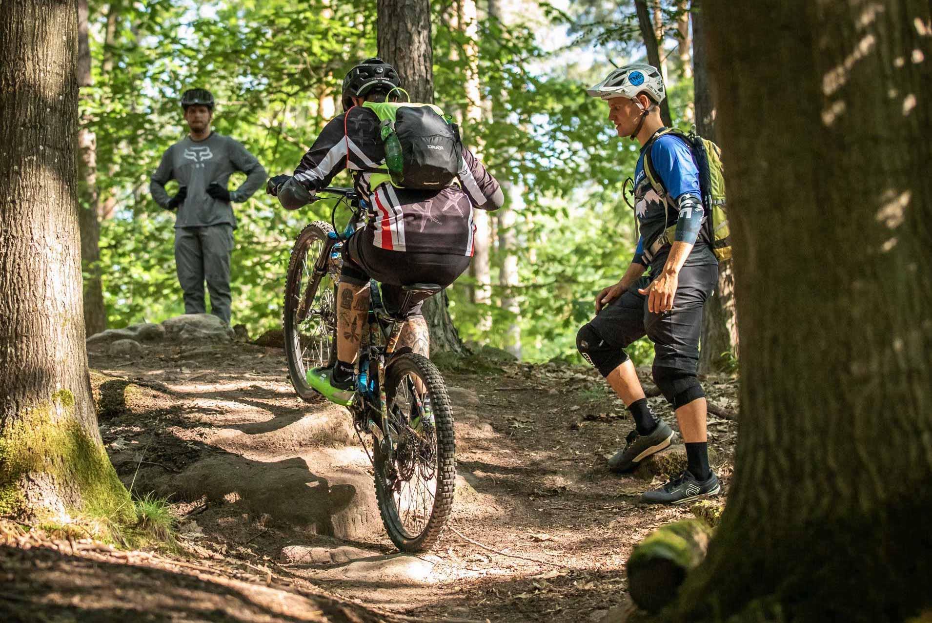 eMTB Fortgeschritten Fahrtechnik Kurs München - Rock my Trail