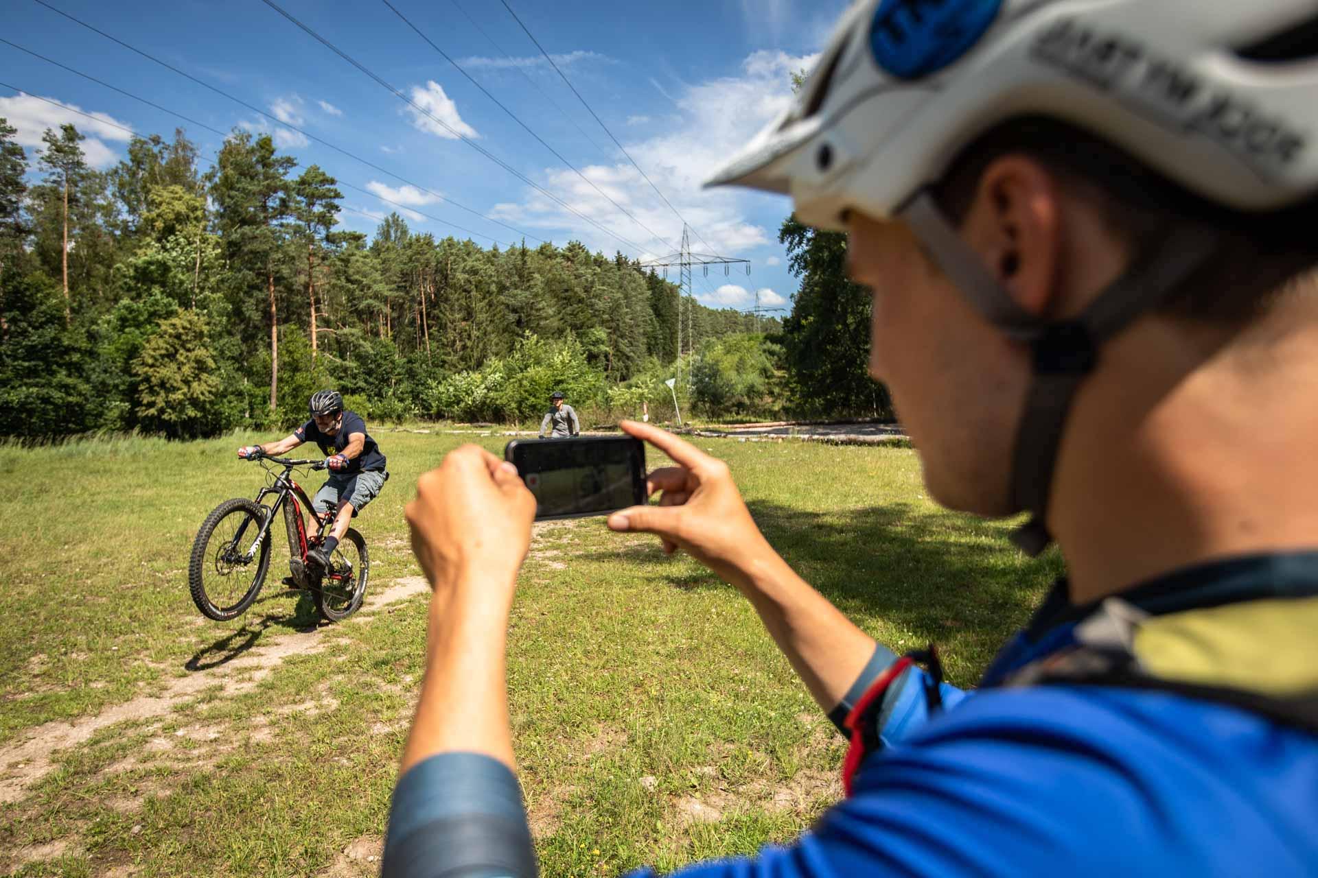 eMTB Fortgeschritten Fahrtechnik Kurs Nagold - eBike Training - Rock my Trail - Einsteiger Kurs