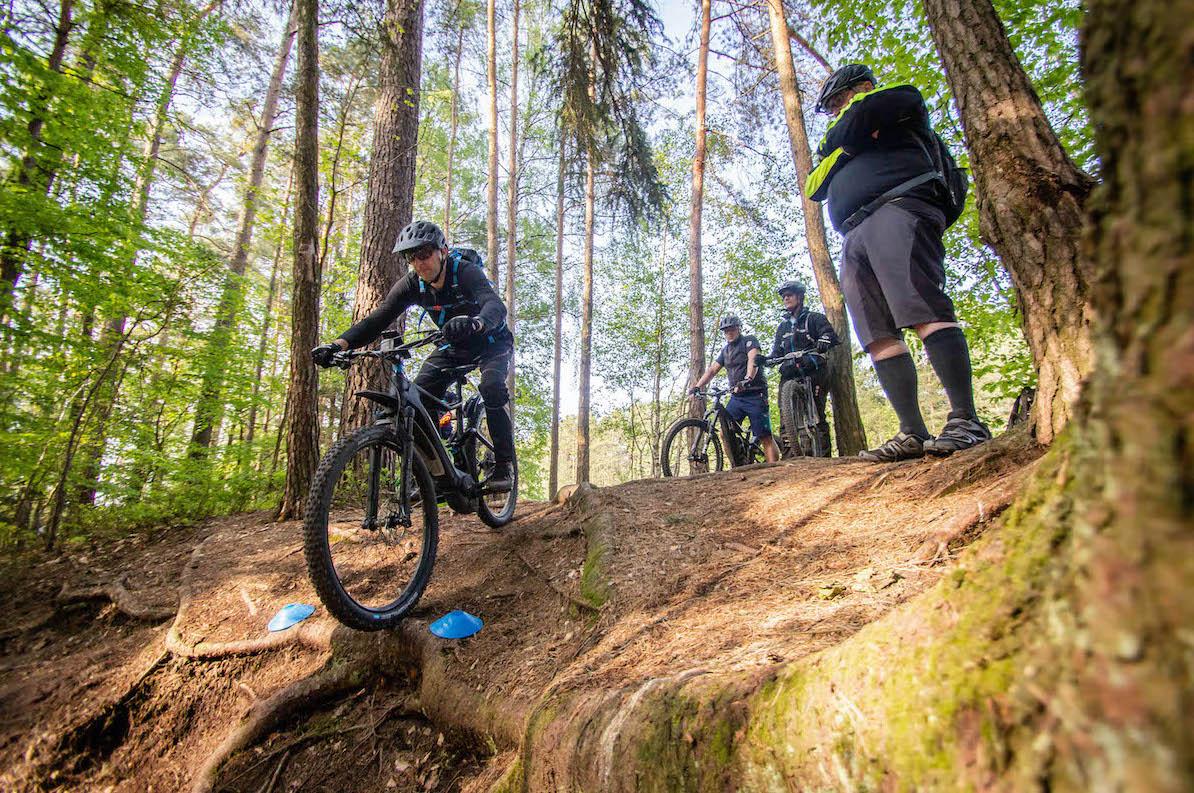 eMTB Fortgeschritten Fahrtechnik Kurs Nagold - eBike Training - Rock my Trail