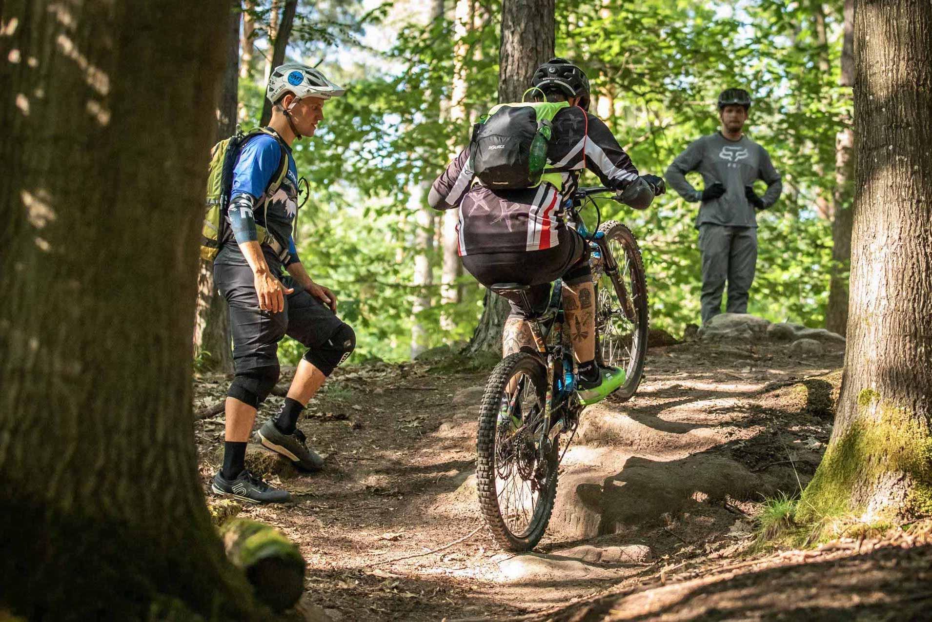 eMTB Fortgeschritten Fahrtechnik Kurs Pforzheim - Mountainbike Training - Rock my Trail Bikeschule GmbH