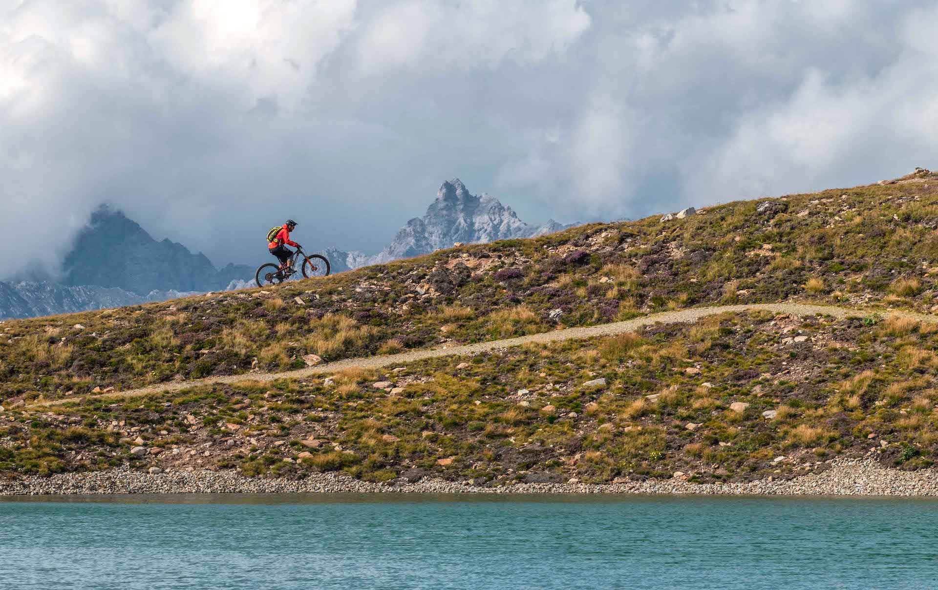 AlpenCross mit vielen Single Trails Füssen Riva Rock my Trail Route TransAlp Tour 1
