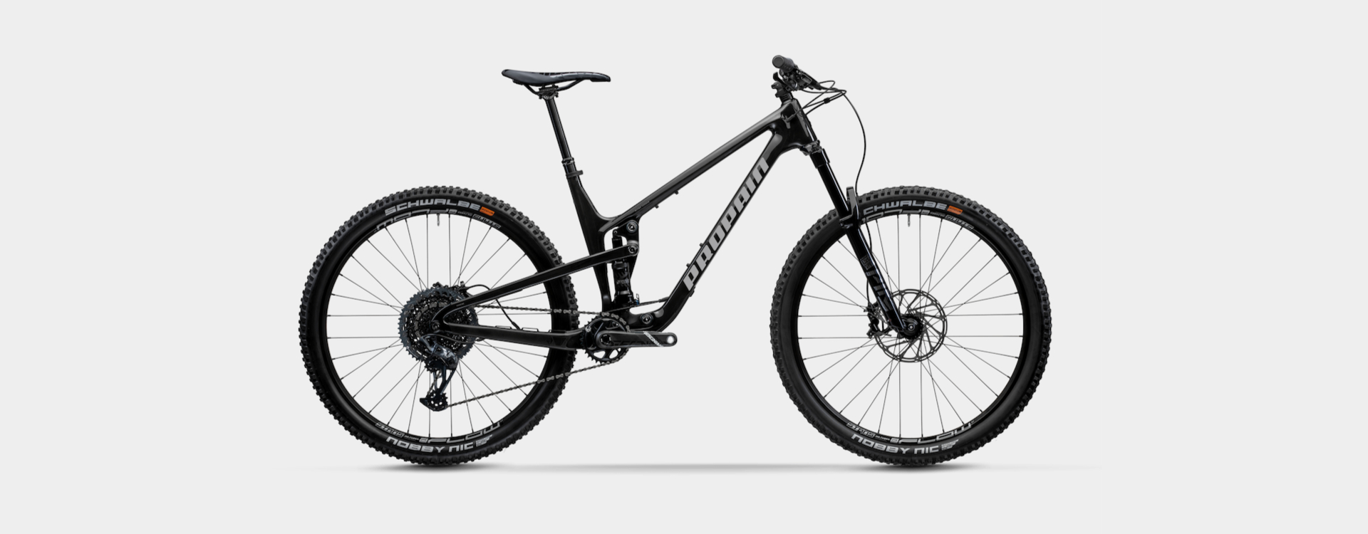Bike Verleih Bad Salzdetfurth Propain Bikes Testcenter Niedersachsen Hugene 5 - CF - XL - Raw - 1920x750px