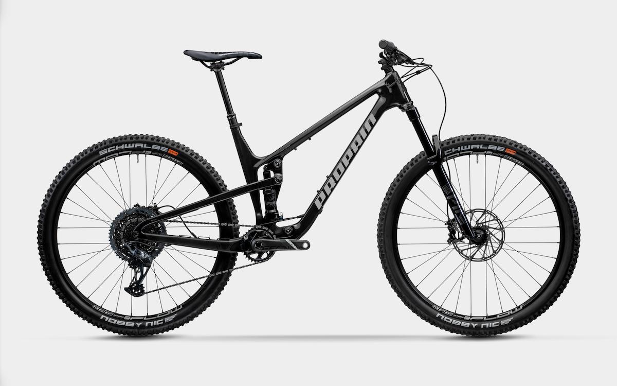 Bike Verleih Gummersbach Propain Bikes Testcenter NRW Hugene 5 - CF - XL - Raw - Bild