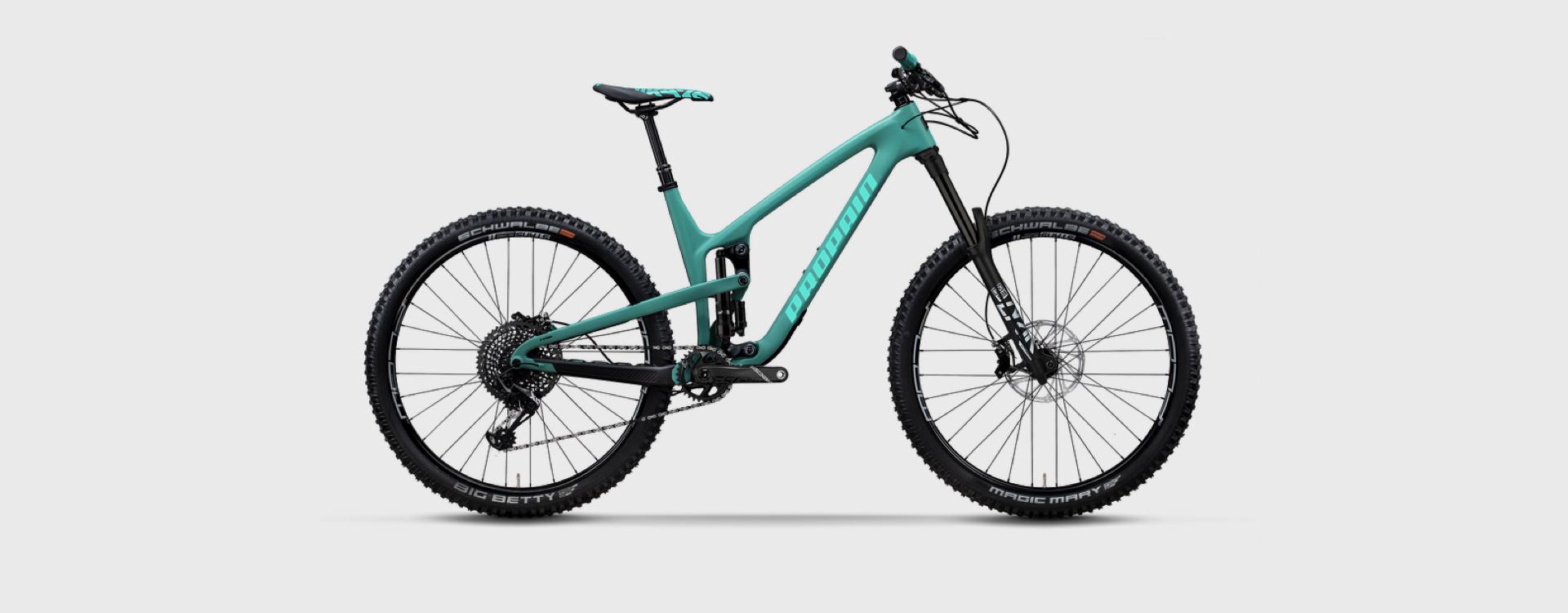 Bike Verleih Gummersbach Propain Bikes Testcenter NRW Tyee 2 - CF - M - 29 - Badmint - 1920x750