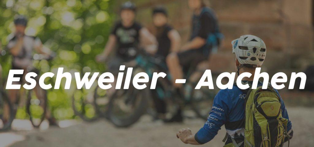 Eschweiler Aachen _ MTB Fahrtechnik Kurse NRW Training eBike eMountainbike Rock my Trail Bikeschule