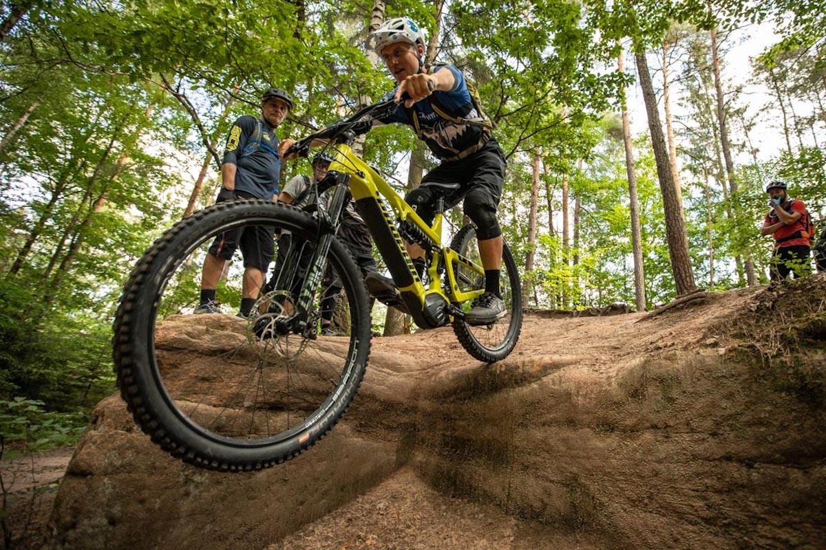 Experten Fahrtechnik Kurs in Saarbrücken - Rock my Trail MTB und eBike Bikeschule