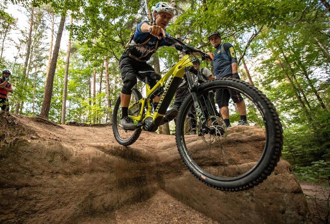 Experten Fahrtechnik Kurs in Weiskirchen | Hochwald - Rock my Trail MTB und eBike Bikeschule