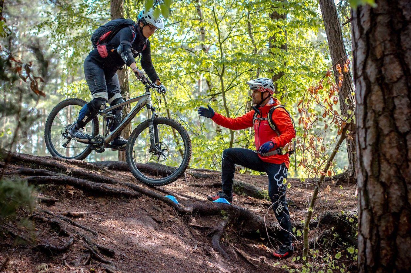 MTB Fahrtechnik Kurs Fortgeschrittene in Berlin - Hauptstadt - Mountainbike Fortgeschritten - Rock my Trail Bikeschule GmbH - 16