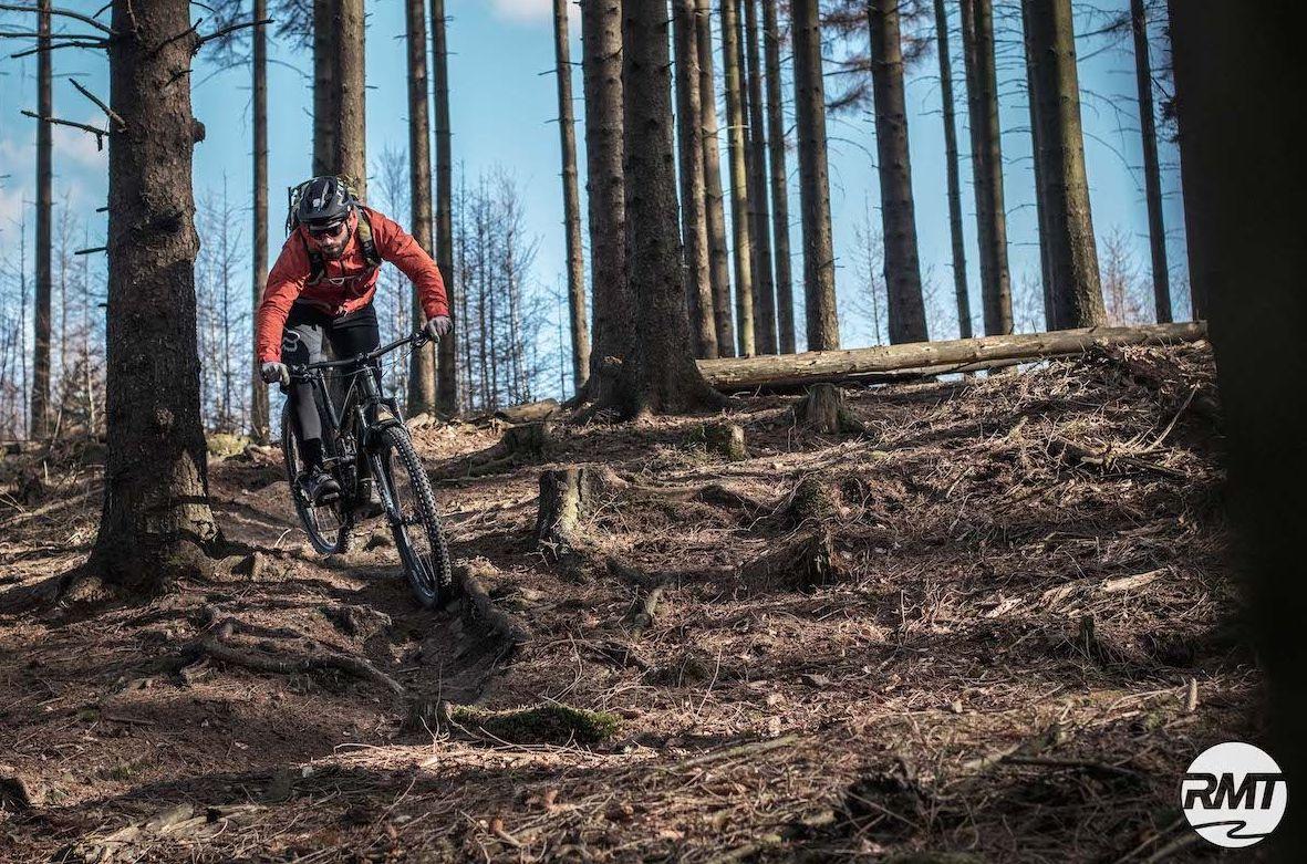 MTB Fahrtechnik Kurs Fortgeschrittene in Hamburg - Harburger Berge Norden - Mountainbike Fortgeschritten - Rock my Trail Bikeschule - 14