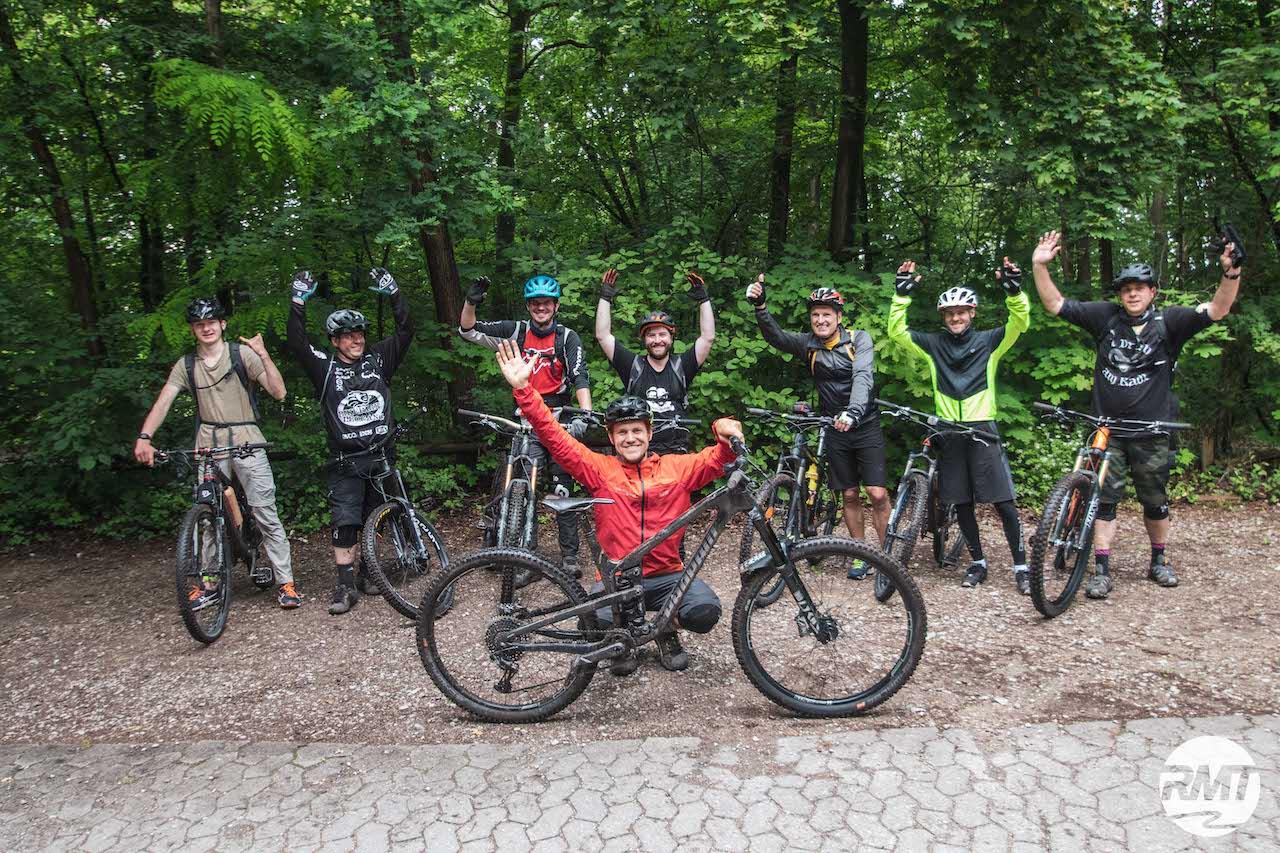 MTB Fahrtechnik Kurs Fortgeschrittene in Hamburg - Harburger Berge Norden - Mountainbike Fortgeschritten - Rock my Trail Bikeschule - 9
