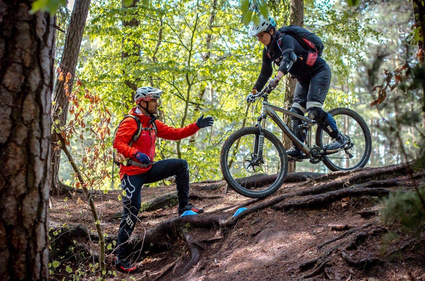 MTB Fahrtechnik Kurs Fortgeschrittene in Moers - Mountainbike Fortgeschritten - Rock my Trail Bikeschule - 5