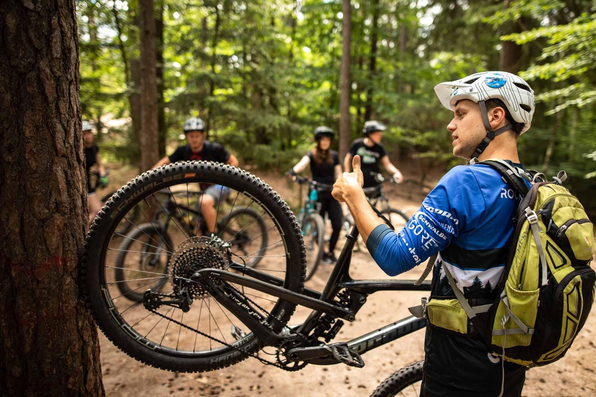 MTB Fahrtechnik Kurs für Einsteiger in Witten - Ruhrgebiet - Mountainbike Basic Ruhrgebit Trail Anfänger - Rock my Trail Bikeschule GmbH - 11