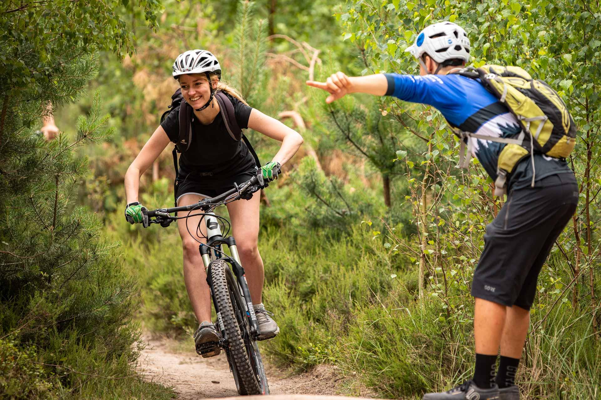 MTB Fahrtechnik Kurs für Einsteiger in Witten - Ruhrgebiet - Mountainbike Basic Ruhrgebit Trail Anfänger - Rock my Trail Bikeschule GmbH - 12
