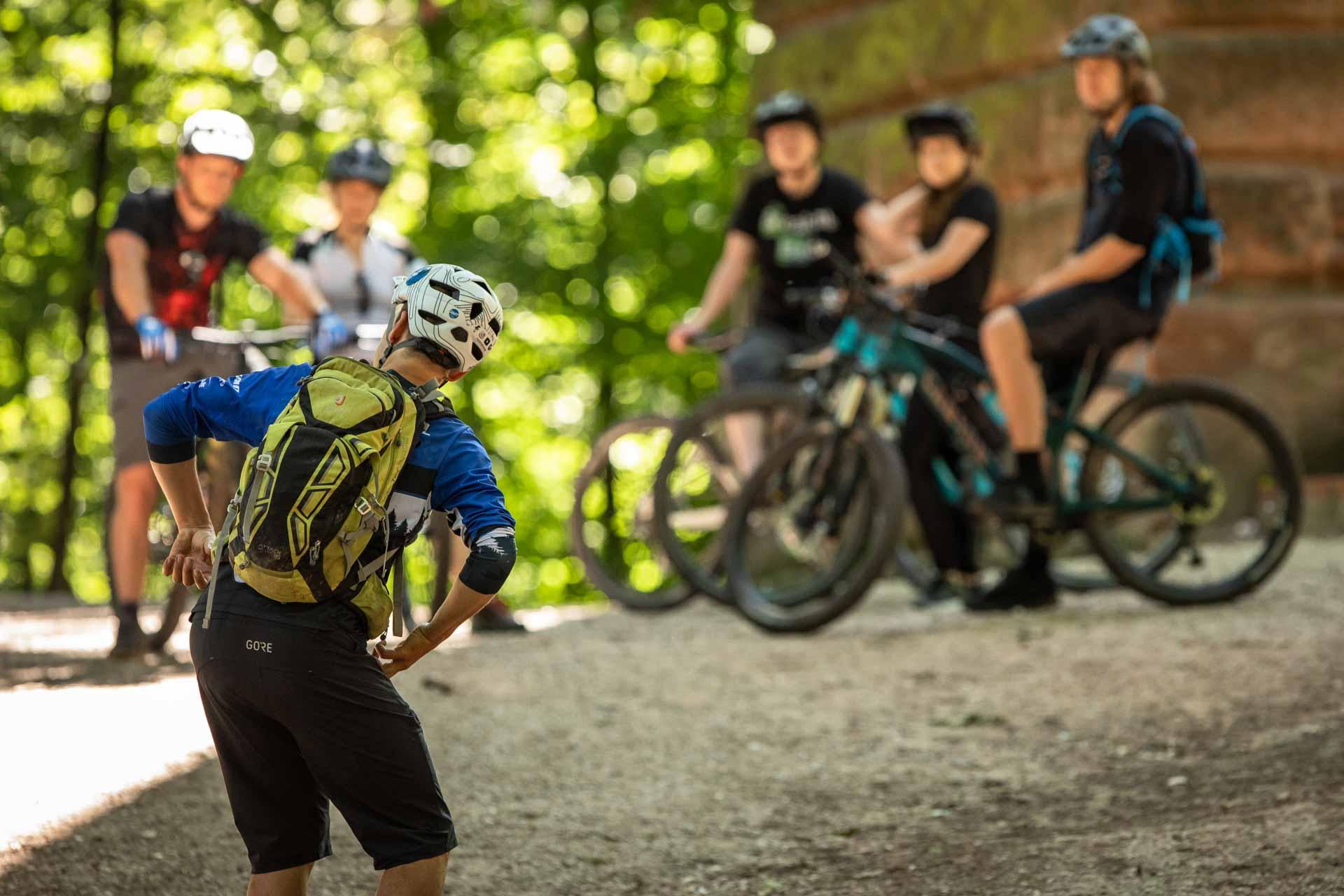 MTB Fahrtechnik Kurs für Einsteiger in Witten - Ruhrgebiet - Mountainbike Basic Ruhrgebit Trail Anfänger - Rock my Trail Bikeschule GmbH - 17