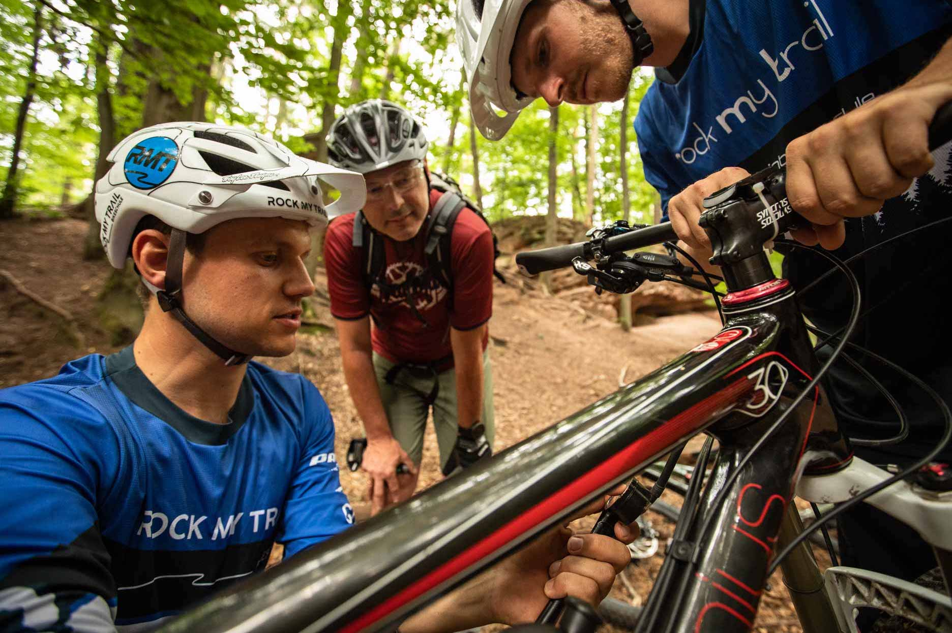 MTB Fahrtechnik Kurs für Einsteiger in Witten - Ruhrgebiet - Mountainbike Basic Ruhrgebit Trail Anfänger - Rock my Trail Bikeschule GmbH - 20