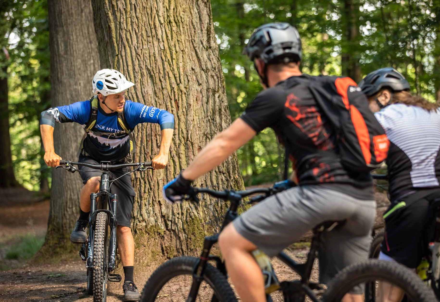 MTB Fahrtechnik Kurs für Einsteiger in Witten - Ruhrgebiet - Mountainbike Basic Ruhrgebit Trail Anfänger - Rock my Trail Bikeschule GmbH - 21