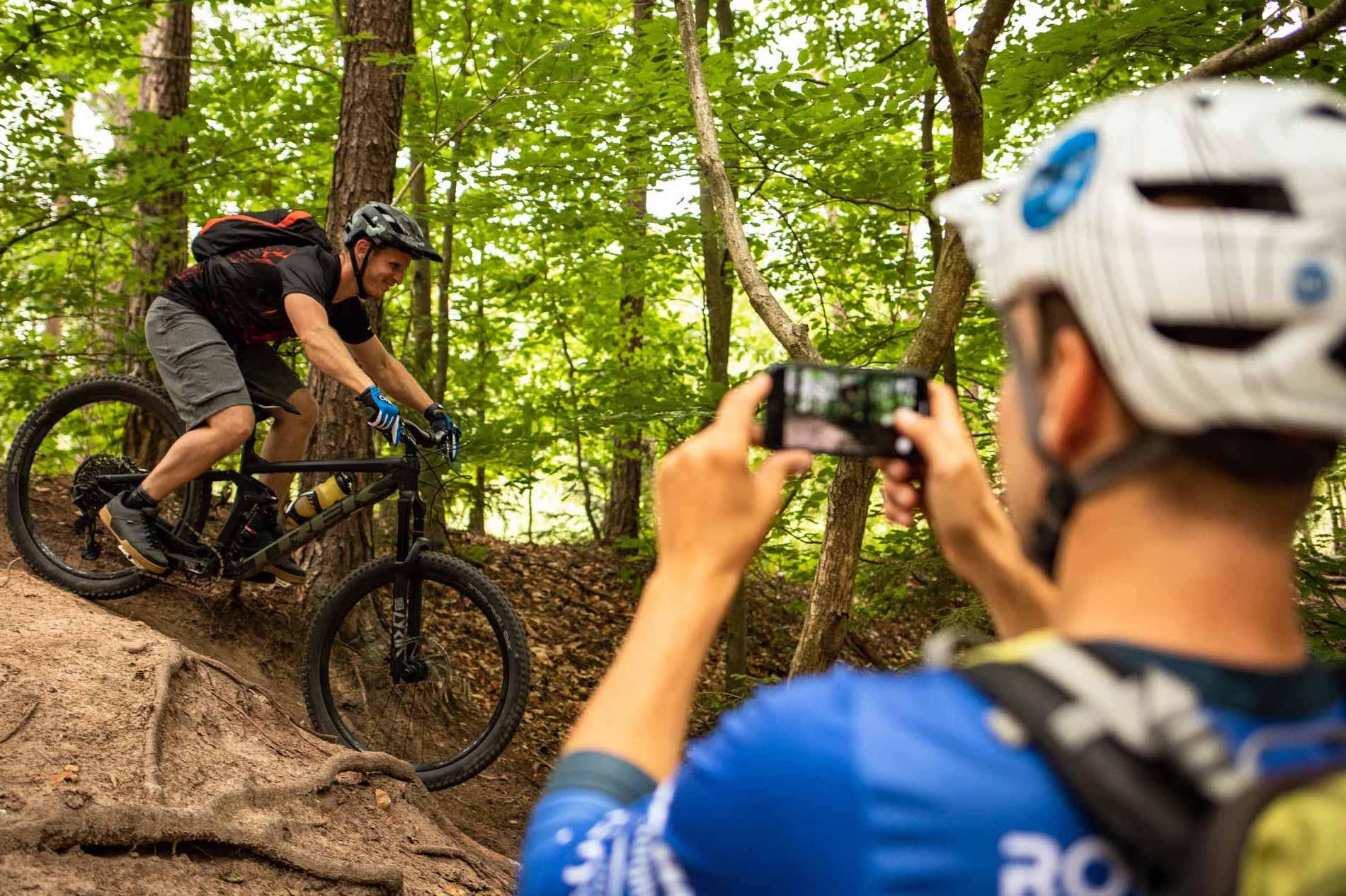 MTB Fahrtechnik Kurs für Einsteiger in Witten - Ruhrgebiet - Mountainbike Basic Ruhrgebit Trail Anfänger - Rock my Trail Bikeschule GmbH - 26
