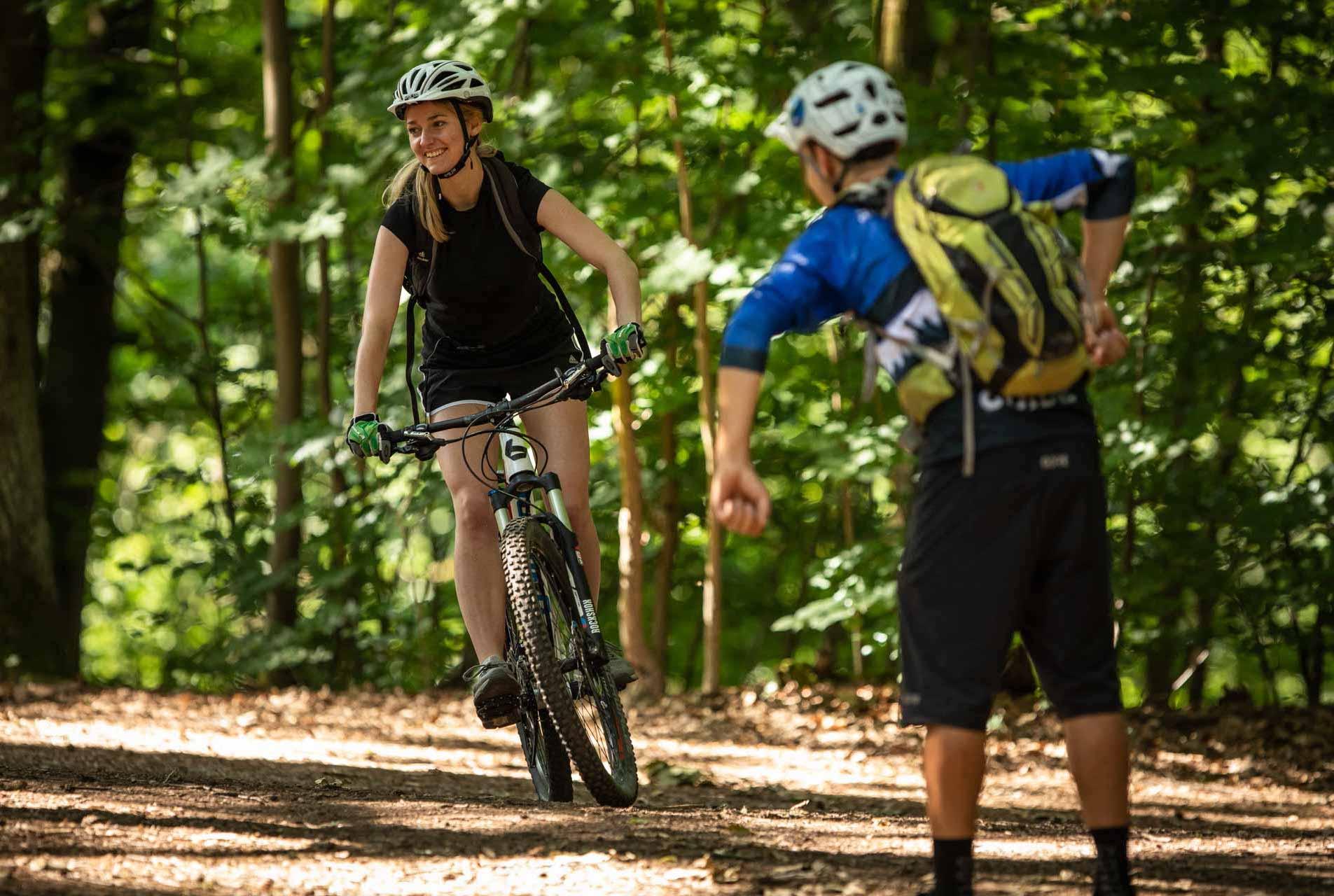 MTB Fahrtechnik Kurs für Einsteiger in Witten - Ruhrgebiet - Mountainbike Basic Ruhrgebit Trail Anfänger - Rock my Trail Bikeschule GmbH - 5