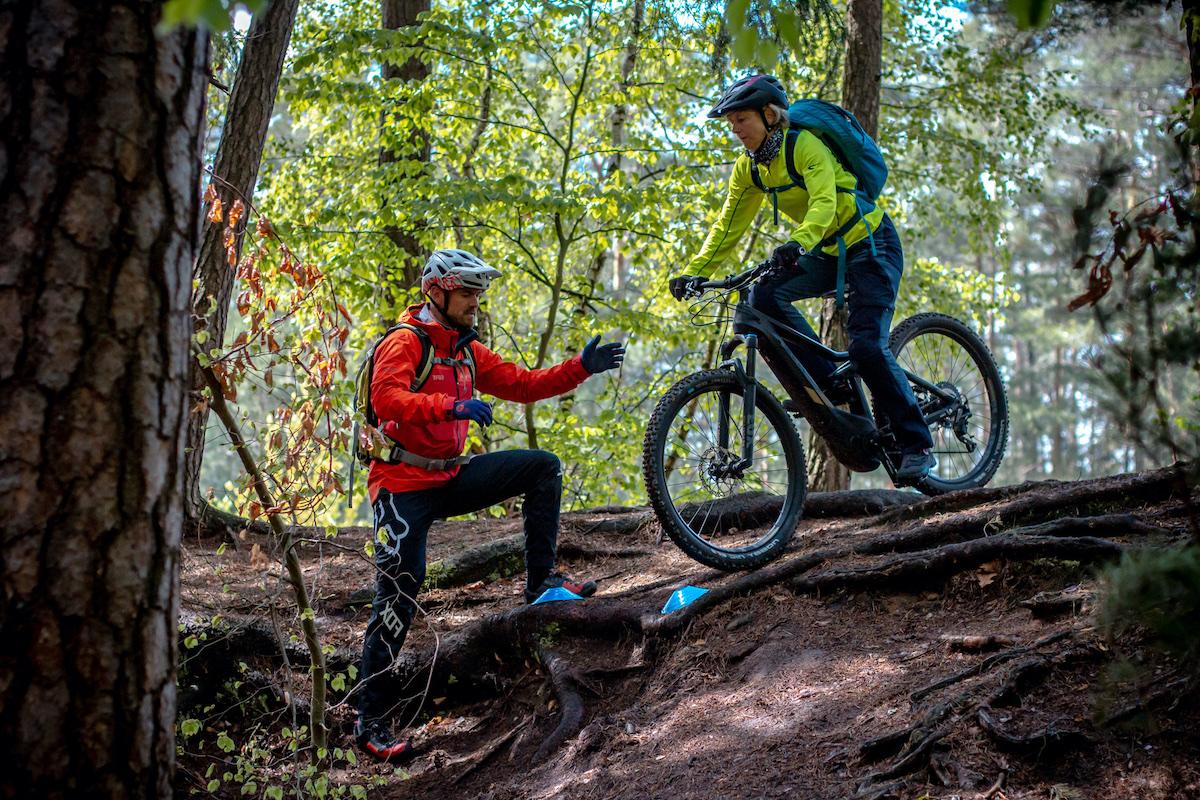 MTB Fahrtechnik Kurse in Sachsen Traing Einsteiger Fortgeschritten Rock my Trail Bikeschule