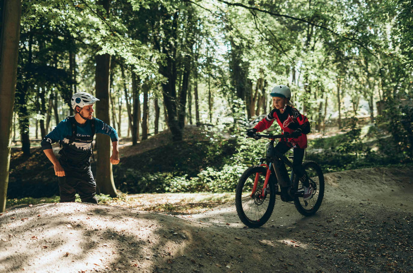 MTB Kinder Fahrtechnik Basic Kurs Heidelberg - Rock my Trail Bikeschule