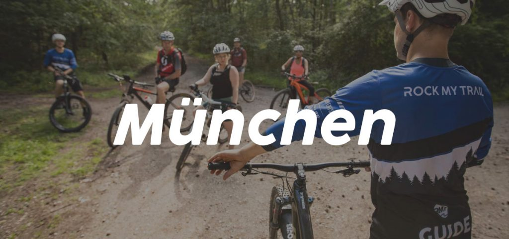 München_ Bayern eBike MTB Fahrtechnik Kurse Training Rock my Trail Bikeschule