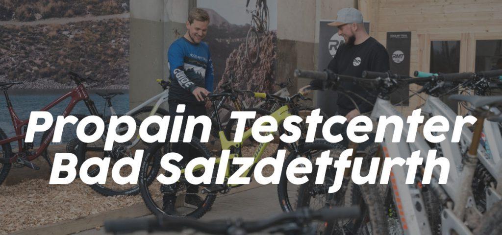 Propain Testcenter Niedersachsen Bad Salzdetfurth Bikes Rock my Trail Bikeschule Verleih