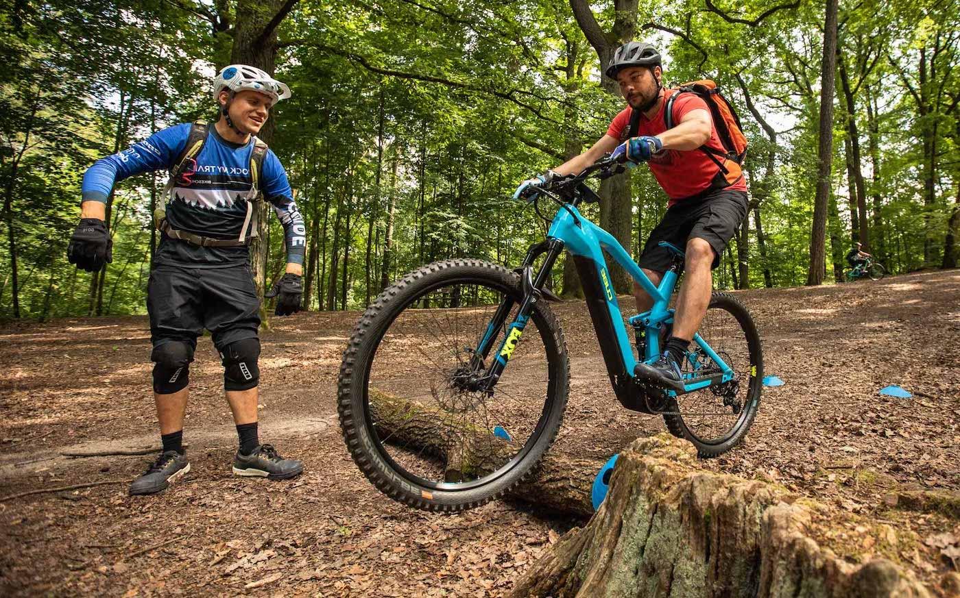 eBike MTB Fahrtechnik Kurse Ruhrgebiet Wetter Witten Trails Sicherheit Spaß Anfänger Fortgeschritten Experten Kinder Rock my Trail Bikeschule -1