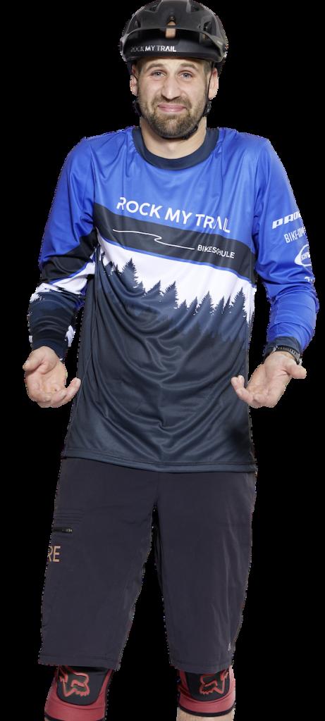 Florian Vieth - Guide Rock my Trail Bikeschule