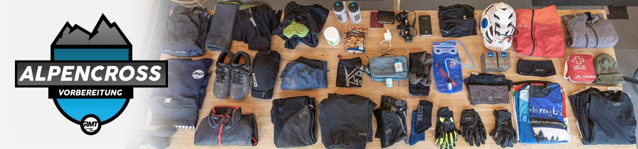 AlpenCross Vorbereitung Training TransAlp Plan packliste -28