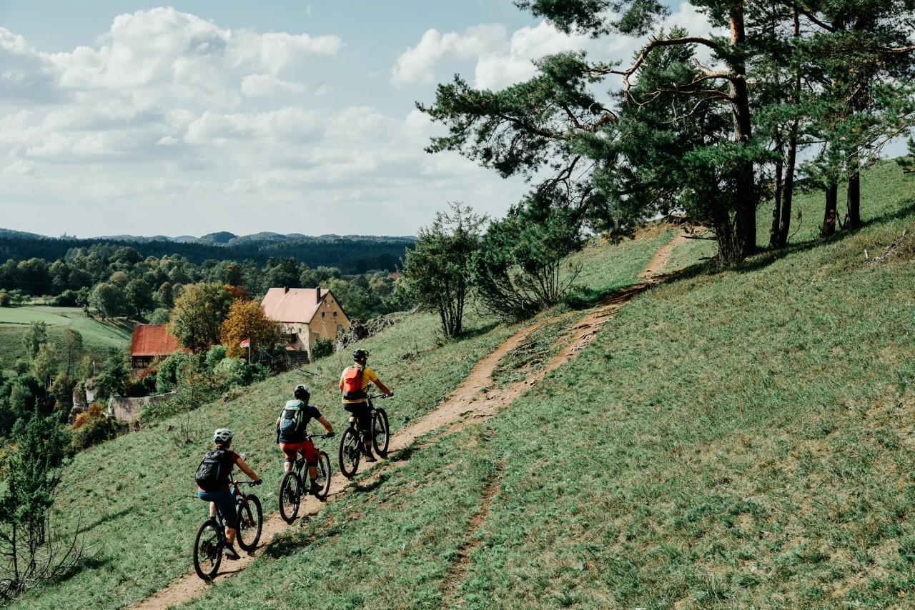 MTB Cross Fränkische Schweiz   Trans Franken Mountainbike Tour - Rock my Trail Bikeschule