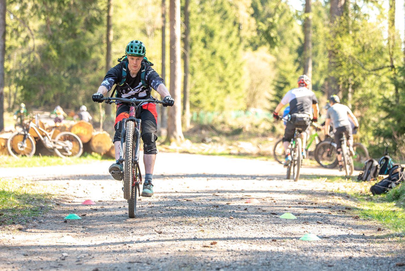 MTB Fahrtechnik Kurs Fortgeschrittene in Bad Orb |Spessart - Mountainbike Fortgeschritten - Rock my Trail Bikeschule - 13