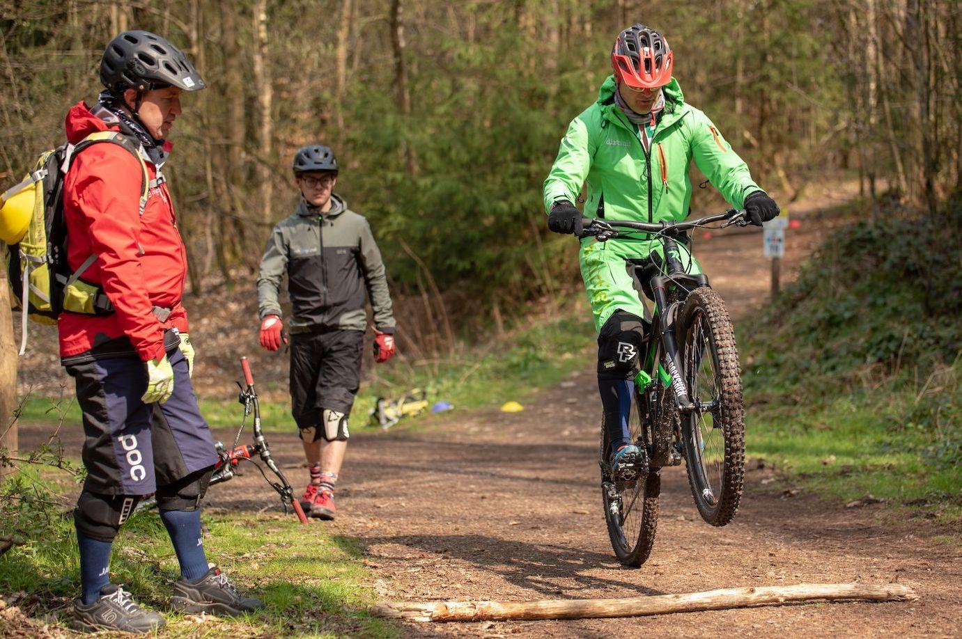 MTB Fahrtechnik Kurs Fortgeschrittene in Bad Orb  Spessart - Mountainbike Fortgeschritten - Rock my Trail Bikeschule - 15