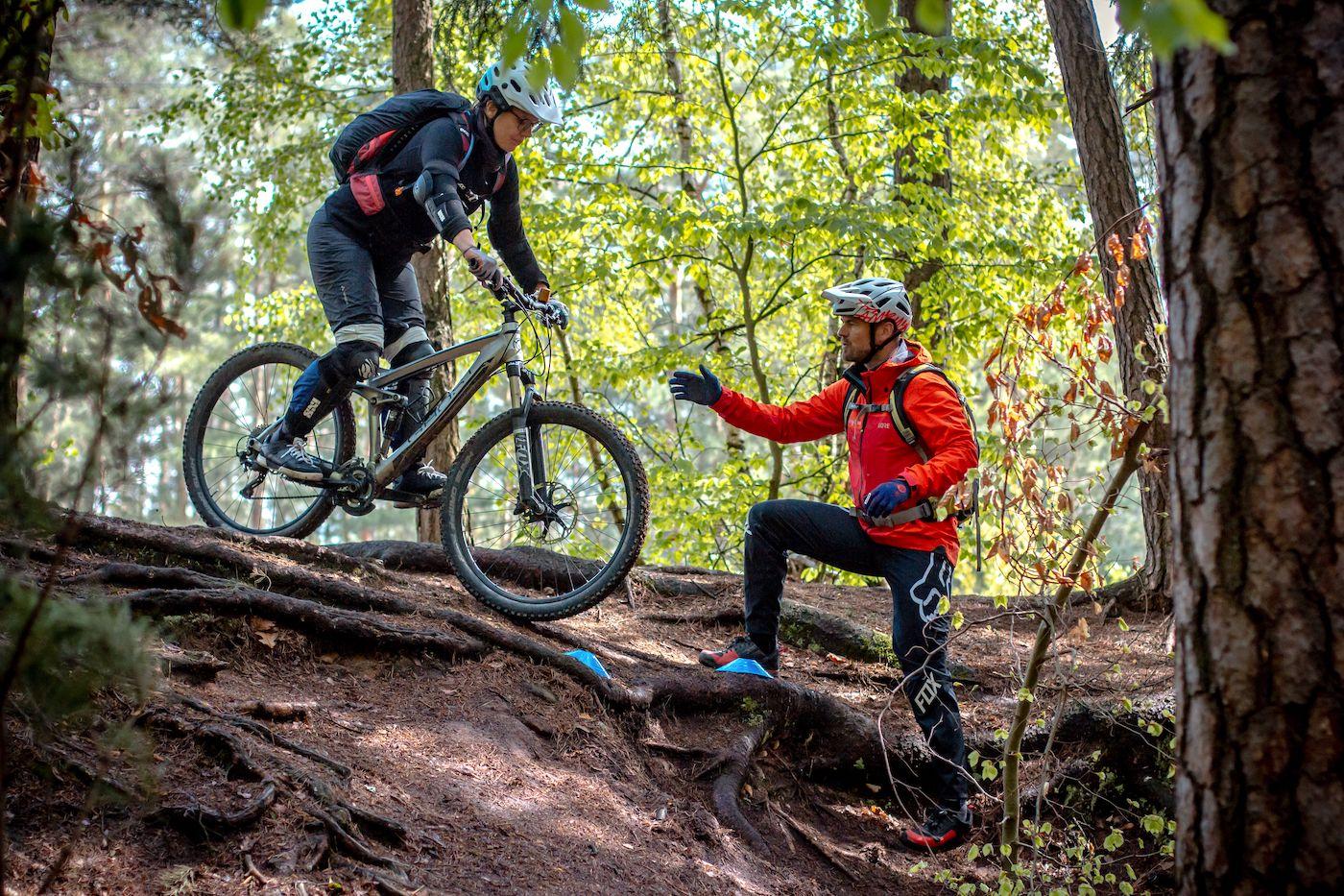 MTB Fahrtechnik Kurs Fortgeschrittene in Bad Orb |Spessart - Mountainbike Fortgeschritten - Rock my Trail Bikeschule - 5