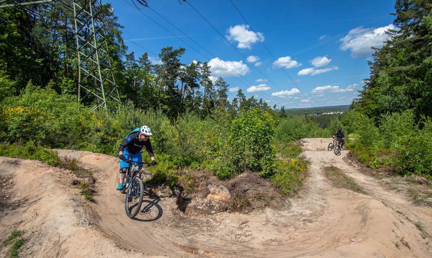 MTB Fahrtechnik Kurs Fortgeschrittene in Bad Orb |Spessart - Mountainbike Fortgeschritten - Rock my Trail Bikeschule - 7